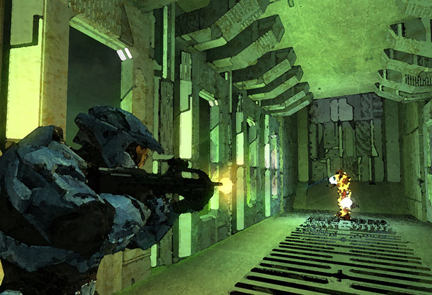 Lockout, the most popular map in Halo 2 (and perhaps the entire trilogy),